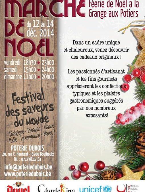 Marché de Noël Artisanal de la «Grange aux potiers»